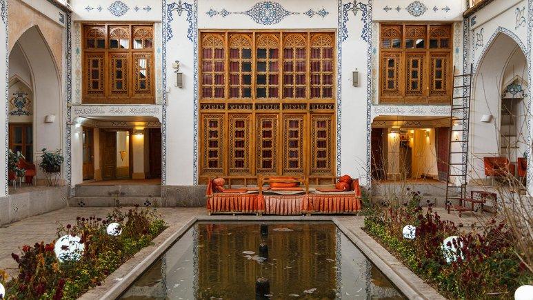هتل سنتی اصفهان فضای داخلی هتل 4