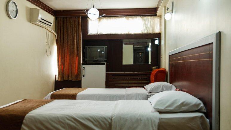 هتل اصفهان اصفهان اتاق تویین 2