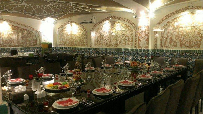 هتل فاضلی یزد رستوران 2
