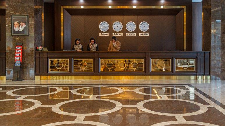 هتل کایا لاله پارک تبریز پذیرش 1