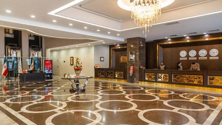هتل کایا لاله پارک تبریز لابی 1