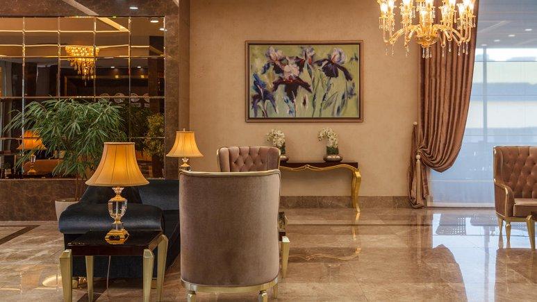 هتل کایا لاله پارک تبریز لابی 3