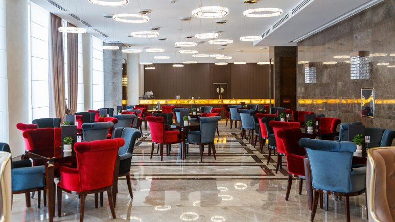 هتل کایا لاله پارک تبریز کافی شاپ 1