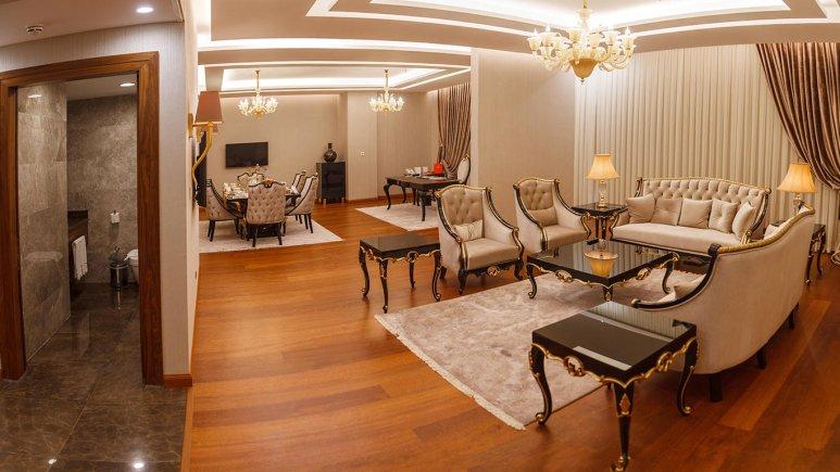 هتل کایا لاله پارک تبریز سوئیت یک خوابه دو تخته رویال 1