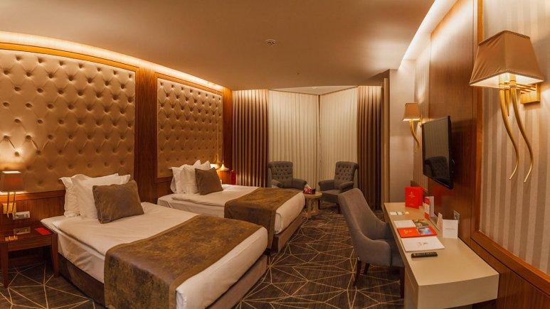 هتل کایا لاله پارک تبریز دلوکس دو تخته تویین