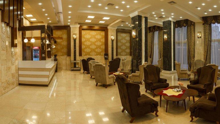 هتل سیمرغ فیروزه مشهد لابی 2