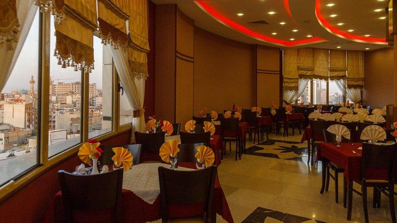 هتل سیمرغ فیروزه مشهد رستوران 2