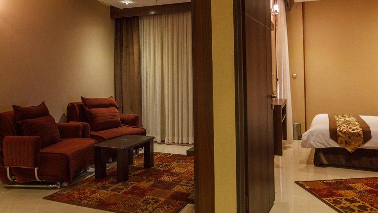 هتل سیمرغ فیروزه مشهد فضای داخلی سوئیت ها 3