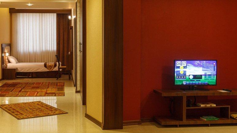 هتل سیمرغ فیروزه مشهد فضای داخلی سوئیت ها 7
