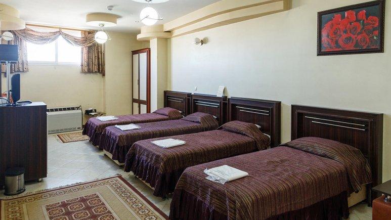 هتل ماهان اصفهان اتاق چهار تخته 1
