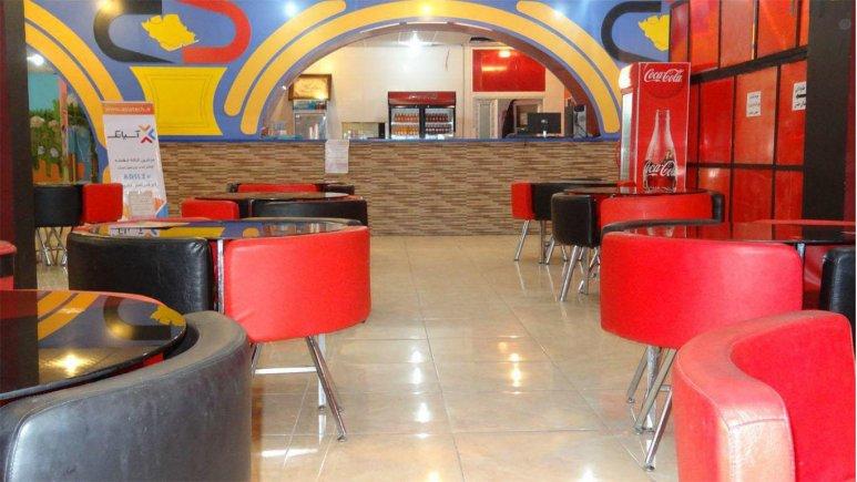 رستوران هتل آویژه فسا
