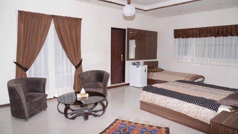 هتل کوروش طالقان اتاق سه تخته