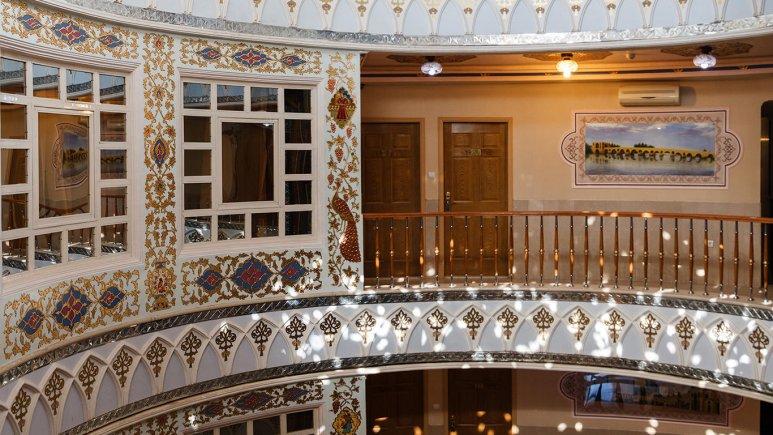 نمای داخلی هتل سپاهان اصفهان