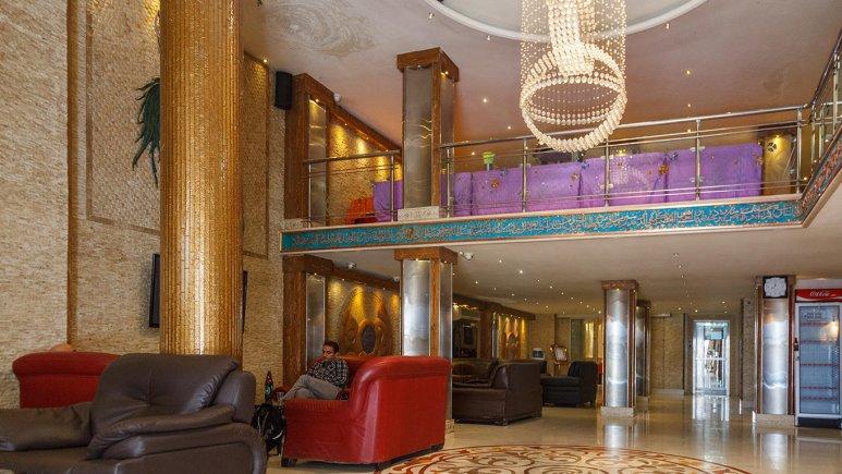 هتل آپارتمان ابریشم مشهد لابی