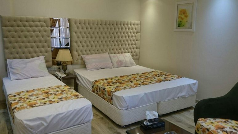 اتاق سه تخته  هتل عمارت