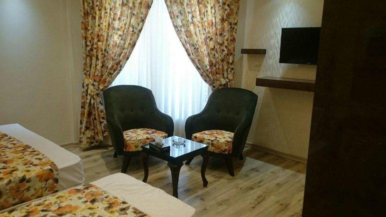 اتاق دو تخته دبل هتل عمارت