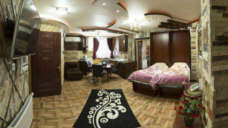 هتل آپارتمان صبوری رشت فضای داخلی سوئیت ها 1
