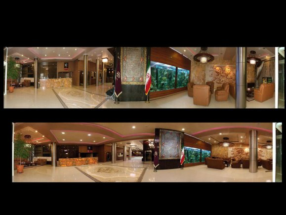 هتل پارمیدا مشهد لابی