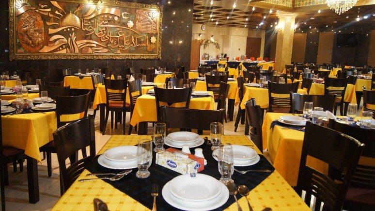 هتل پارمیدا مشهد رستوران