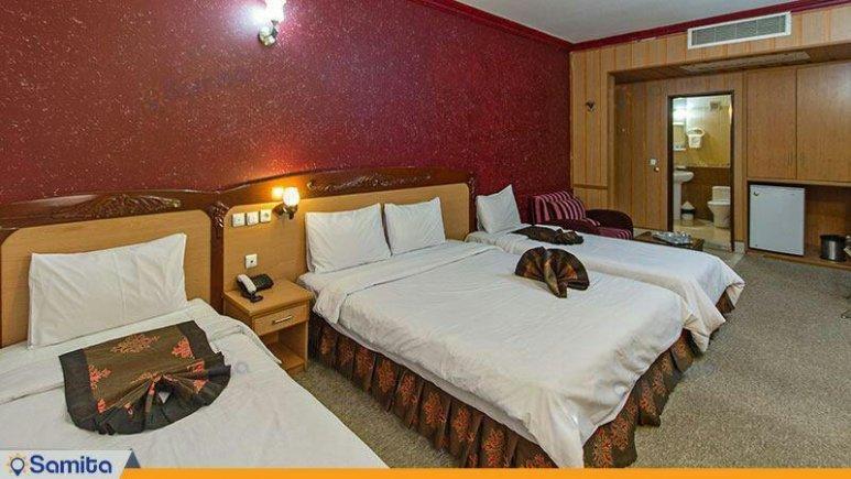 هتل پارمیدا مشهد چهار تخته فولبرد