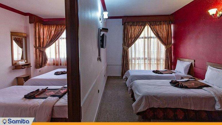 هتل پارمیدا مشهد سوییت پنج تخته فولبرد