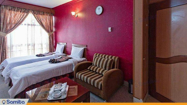 هتل پارمیدا مشهد دوتخته فولبرد تویین