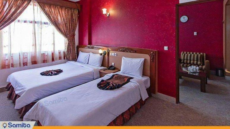 هتل پارمیدا مشهد سه تخته فولبرد