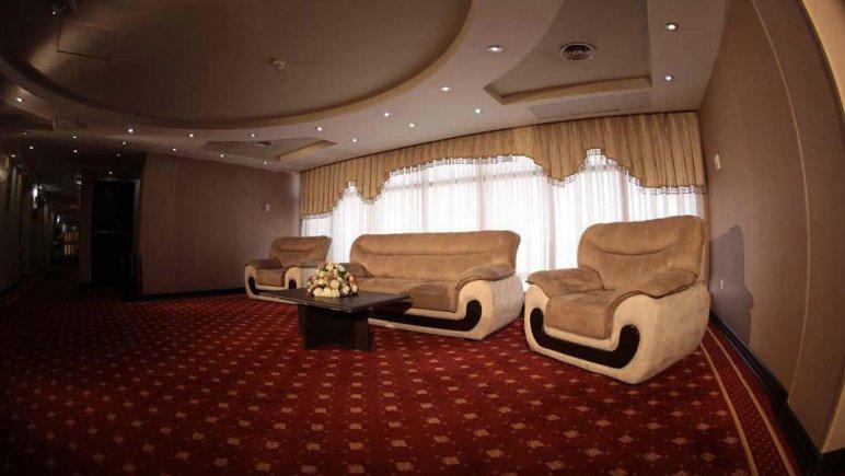 هتل پارسیا قم لابی طبقات اقامتی