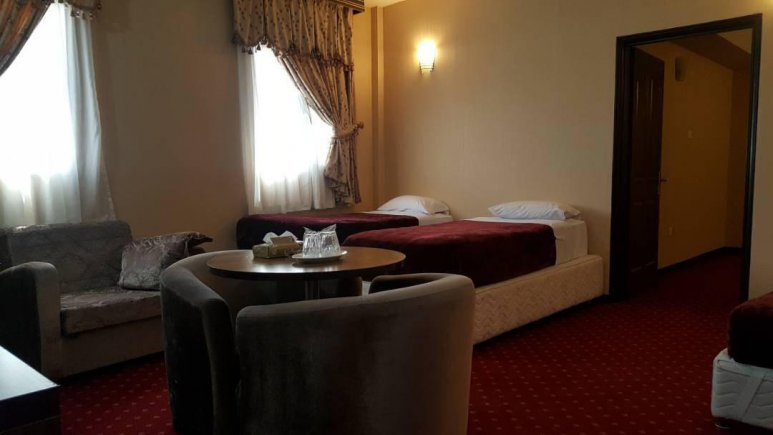 هتل پارسیا قم سوئیت یک خوابه دو تخته 1