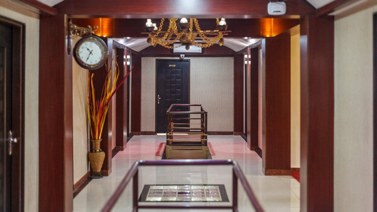 هتل فولتون قشم فضای داخلی هتل