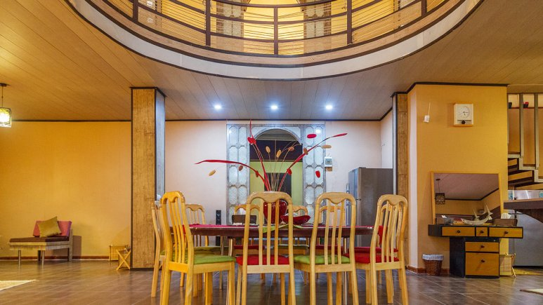 هتل فولتون قشم فضای داخلی ویلاها 2