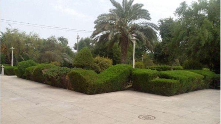 هتل بزرگ بندر امام خمینی فضای بیرونی هتل 1