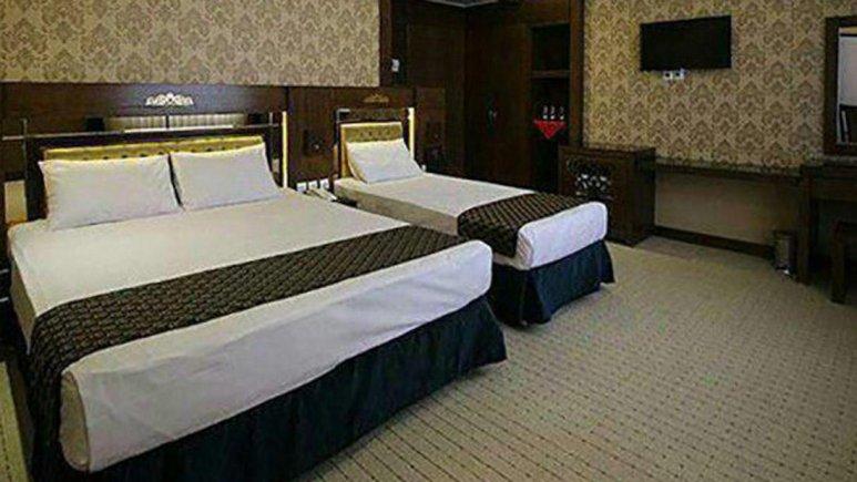 هتل ذاکر مشهد اتاق سه تخته