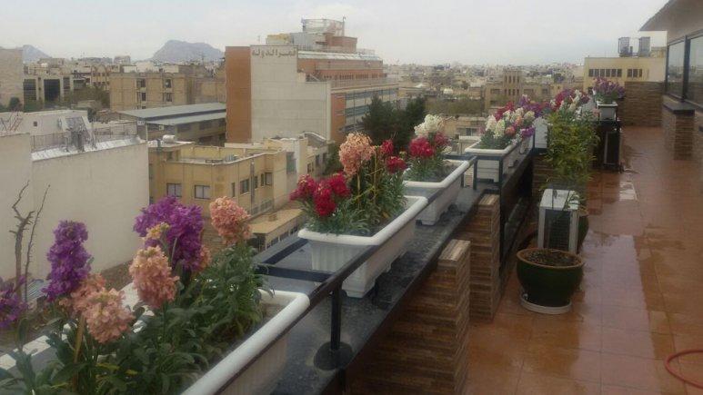 محوطه هتل شیخ بهایی