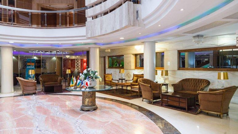 هتل سفیر اصفهان لابی 1