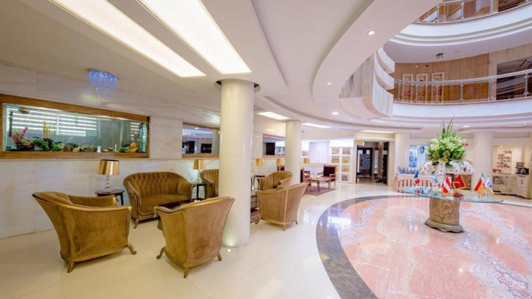 هتل سفیر اصفهان لابی 3