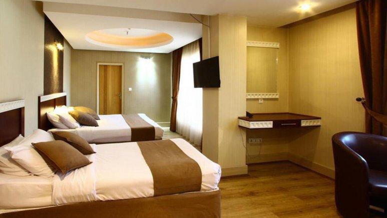 هتل سفیر اصفهان آپارتمان دو خوابه چهار تخته 2