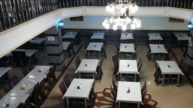 رستوران هتل عجم گرگان