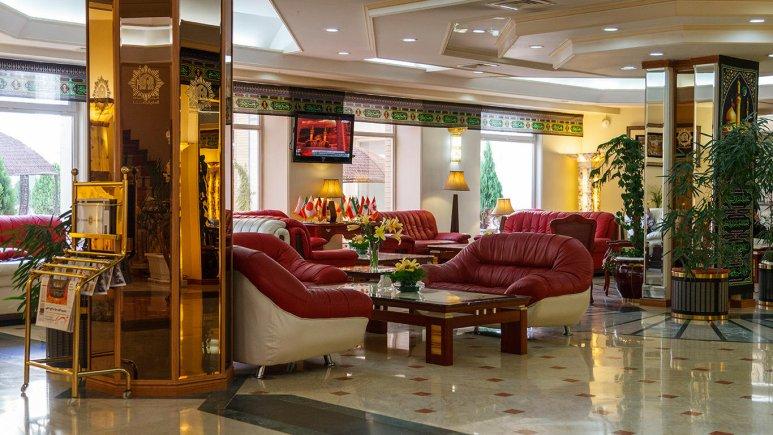 هتل قصر الضیافه مشهد لابی 2
