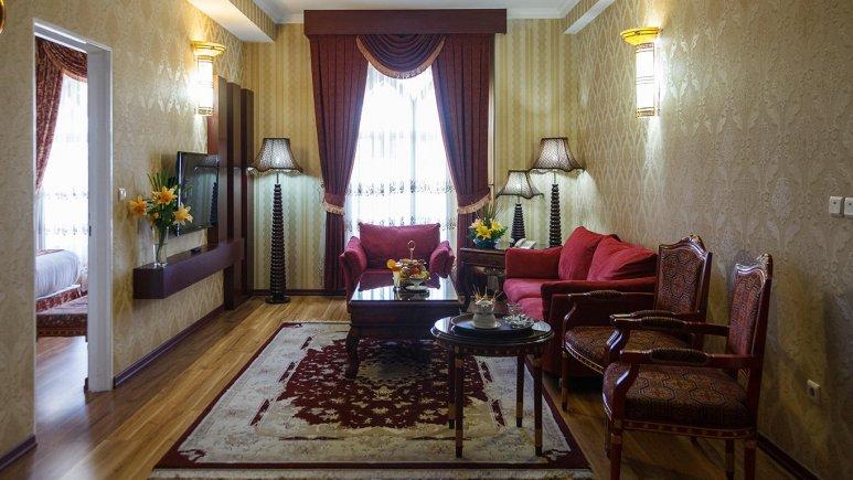 هتل قصر الضیافه مشهد سوئیت دو خوابه چهار تخته 1