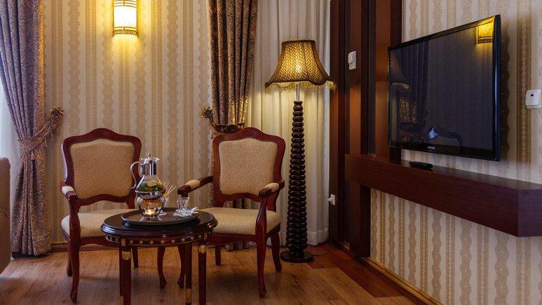 هتل قصر الضیافه مشهد فضای داخلی سوئیت ها 1