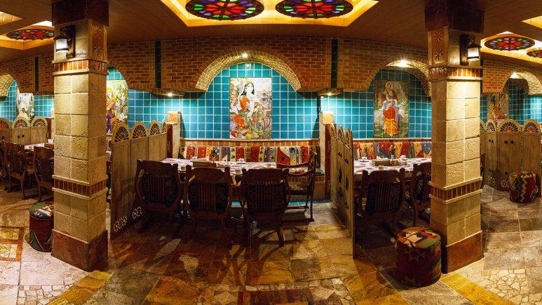 هتل ستارگان شیراز رستوران سنتی 1