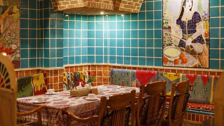 نمایی از رستوران سنتی هتل ستارگان
