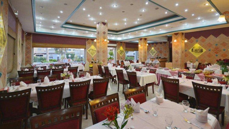 هتل پارک سعدی شیراز رستوران