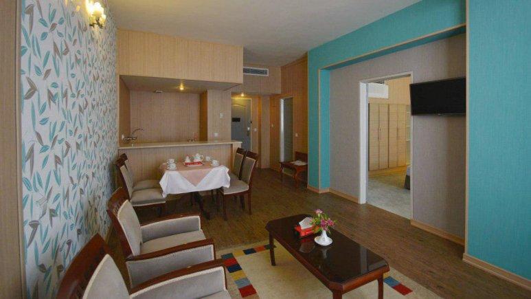 هتل پارک سعدی شیراز فضای داخلی سوئیت ها