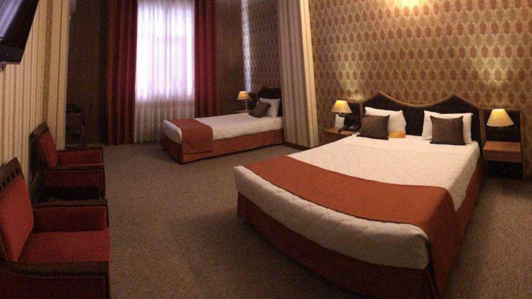 هتل پارک سعدی شیراز اتاق سه تخته 1