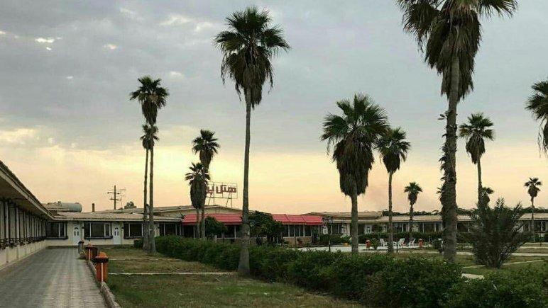 هتل پرواز بوشهر فضای بیرونی هتل