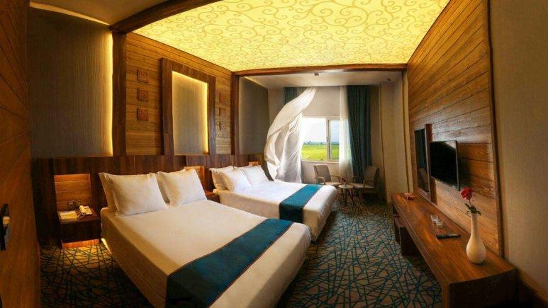 اتاق چهار تخته هتل میزبان