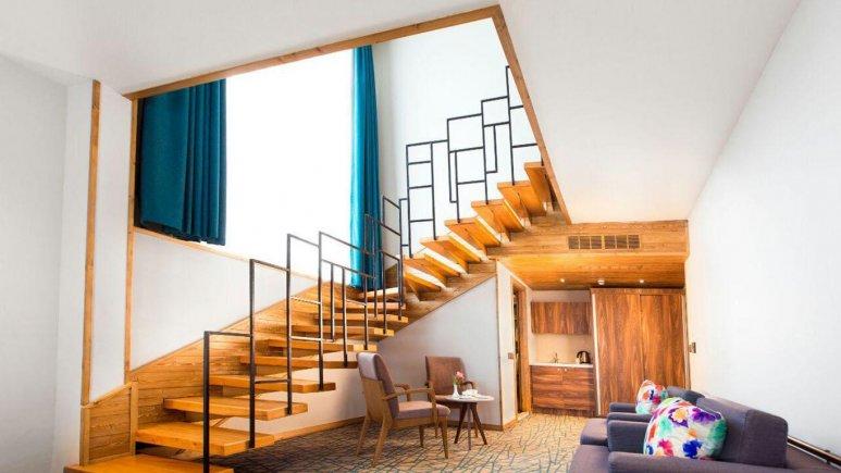 هتل میزبان بابلسر فضای داخلی سوئیت ها 1