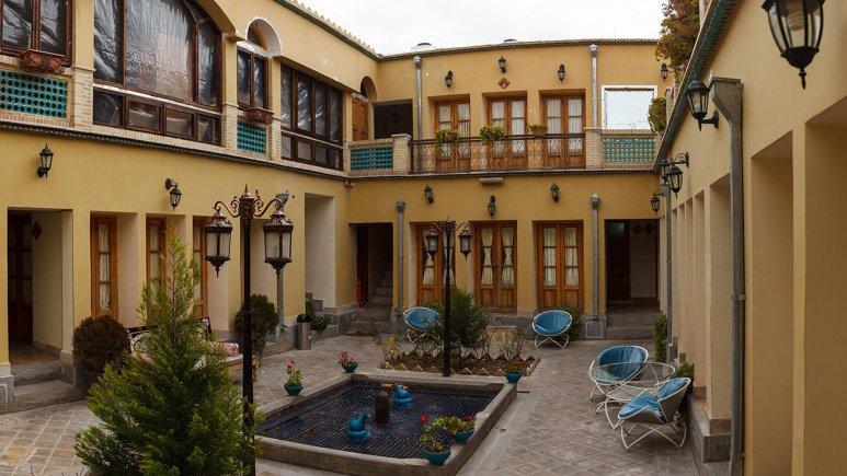 هتل طلوع خورشید اصفهان فضای داخلی هتل 1